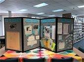 KDH Library 30th Anniversary Display