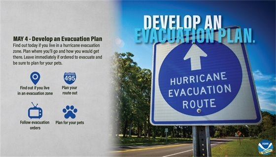 Hurricane Preparedness - Evacuation Plan