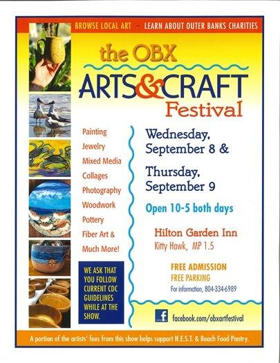 2021 OBX Arts & Crafts Festival Information