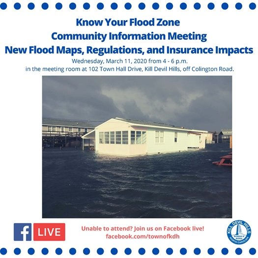 Know Your Flood Zone Community Meeting