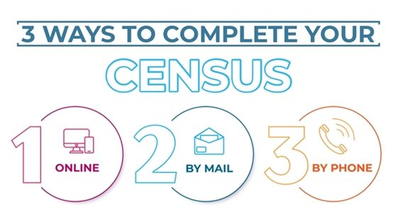 3 ways to complete census