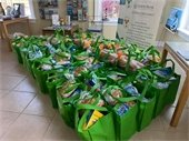 OBX Chamber handed out groceries