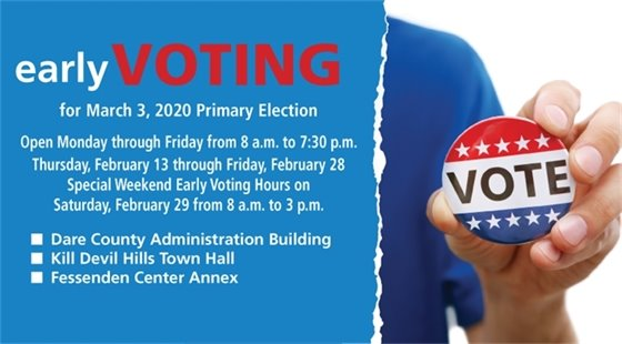 Early Voting for Primary Election