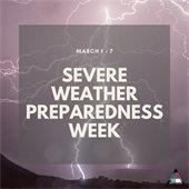 Severe Weather Preparedness Week