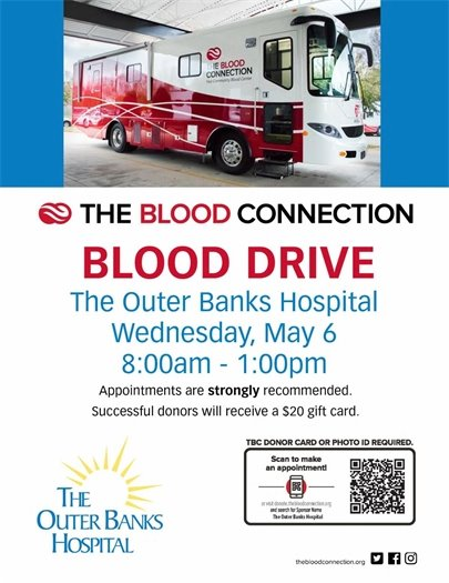 Outer Banks Hospital Community Blood Drive