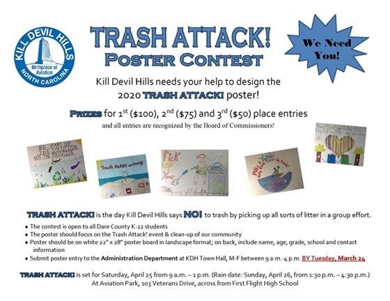 Trash Attack! Poster Contest