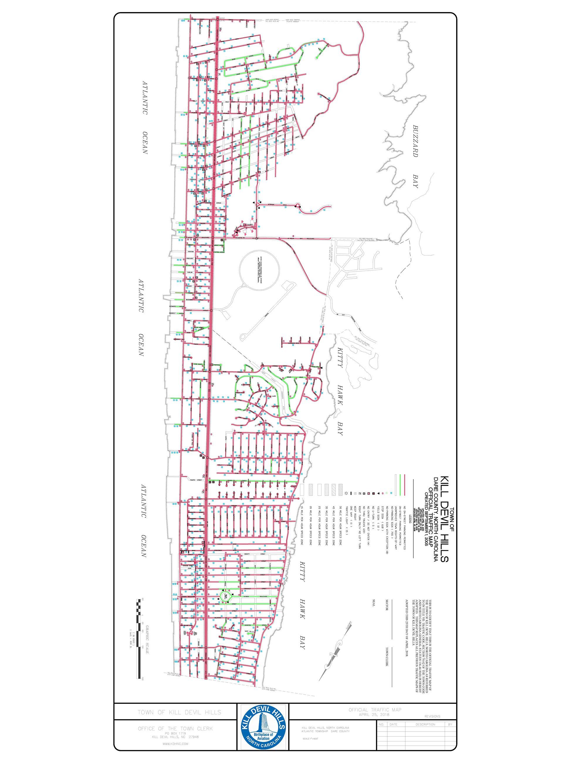 Town Maps Kill Devil Hills Nc Official Website