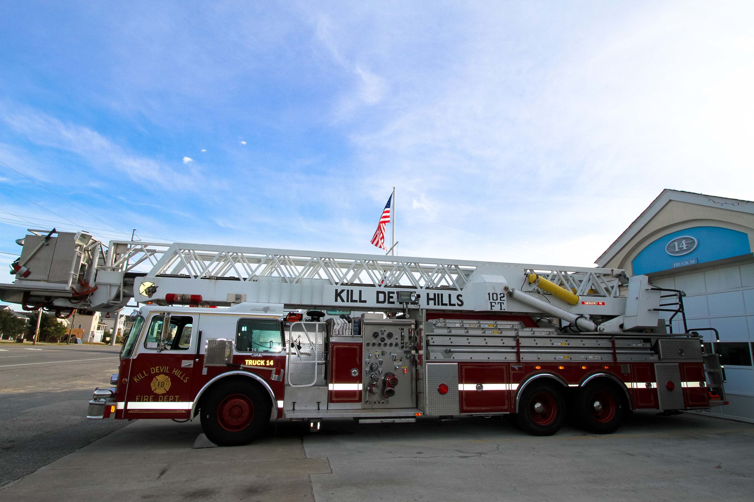 Fire Truck New Aerial