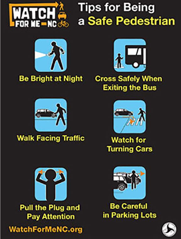 Tips for Being a Safe Pedestrian