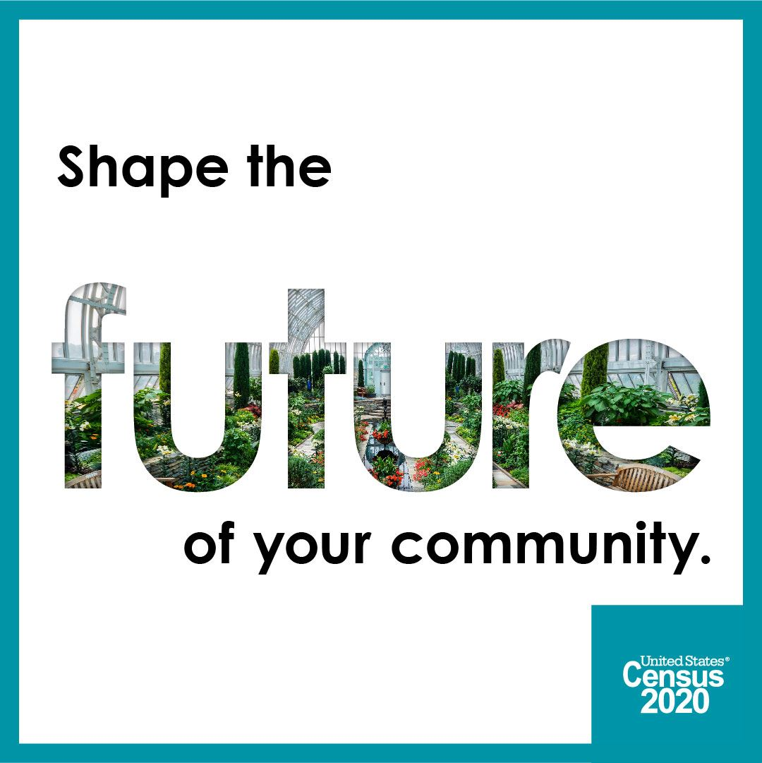 shape the future of your community - take the 2020 census