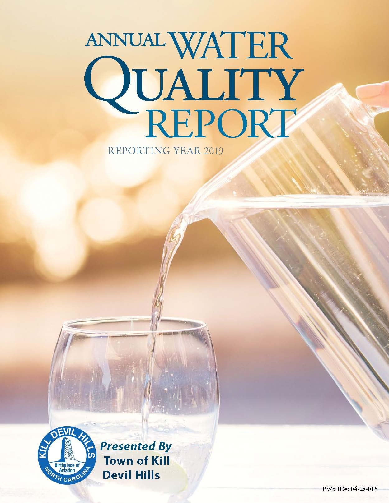 2019 KDH Annual Water Quality Report Cover Page